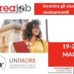 Areajob incontra studenti e laureati UNIMORE on line – 19-20-21 Maggio 2020